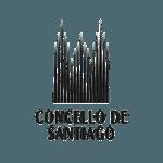 logo concello de santiago