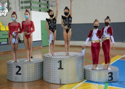 campeonas alevines en el campeonato nacional de conjuntos