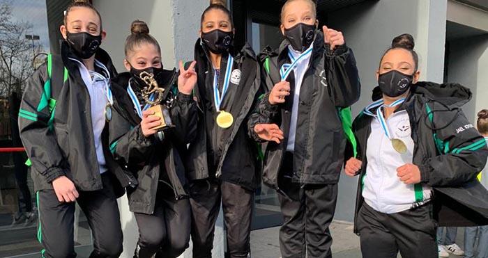 campeonas gallegas infantiles medalla