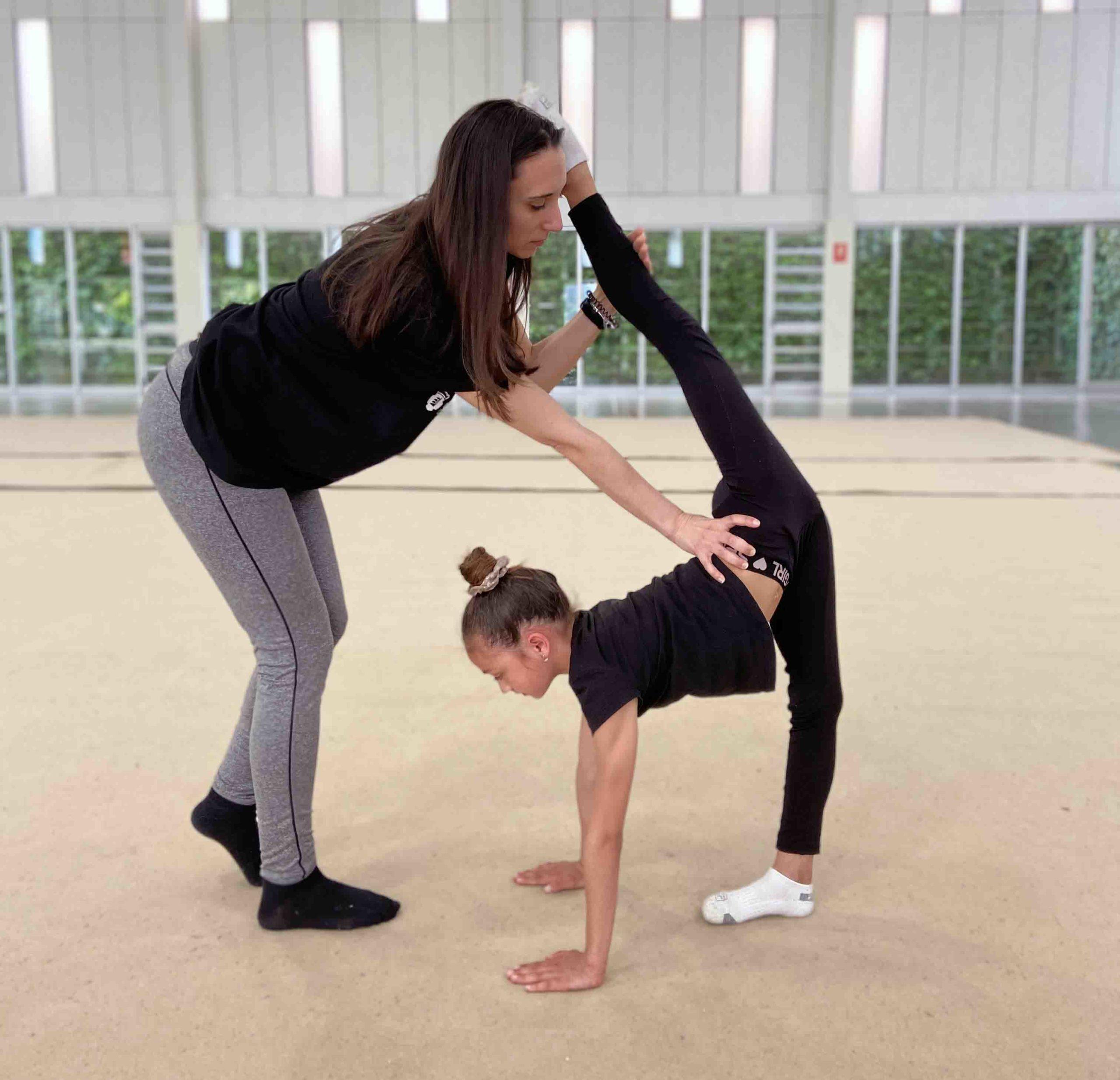clases gimnasia ritmica niños y niñas