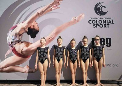 equipo alevines campeonato nacional de conjuntos